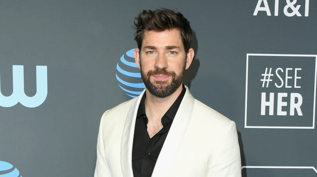 John Krasinski wants Marvel to let him play Mr. Fantastic, which isn't much of a… stretch