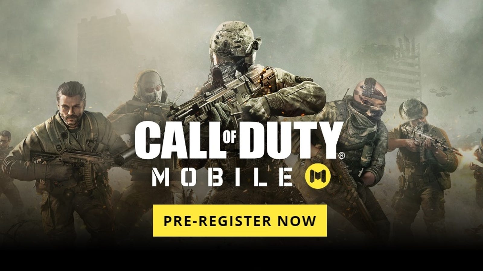 Pre-Register Now for the 'Call of Duty: Mobile' Beta on iOS and Android