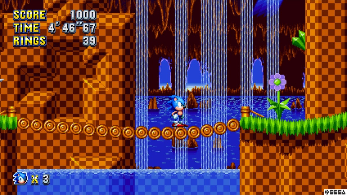 How Sonic Mania's first level sets the stage for a nostalgia