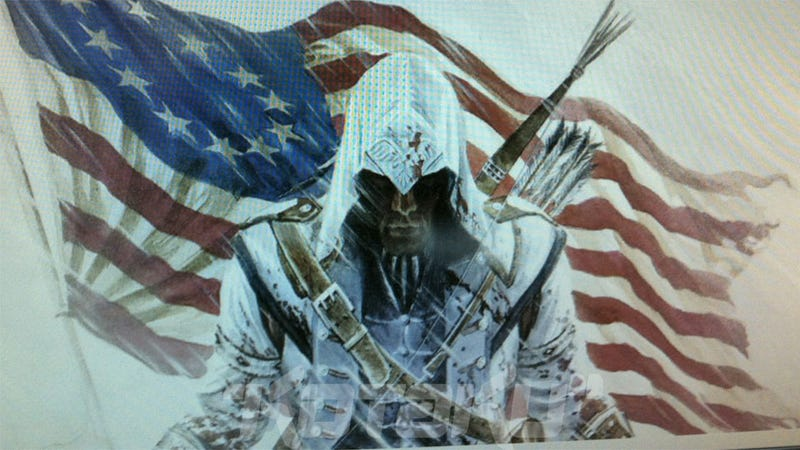 Illustration for article titled Is This the Star of Assassin's Creed III? [Update: Yes, It Is]