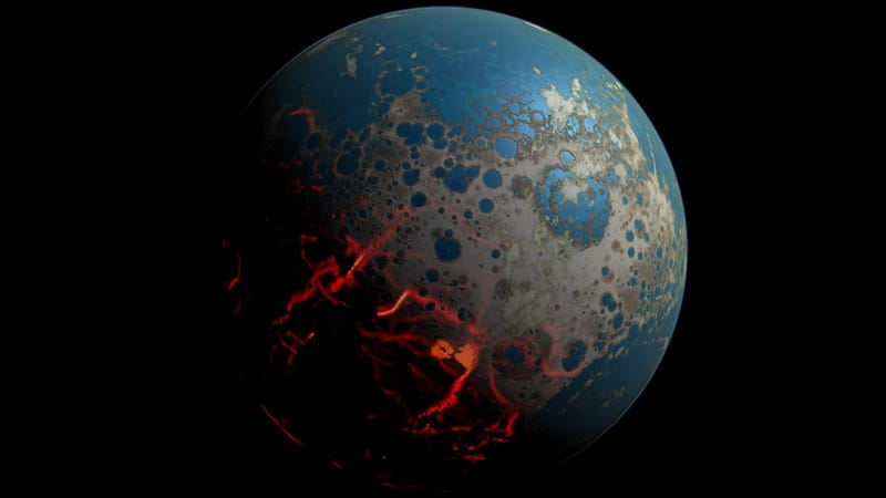 The Tortured History Of Earth S First 500 Million Years