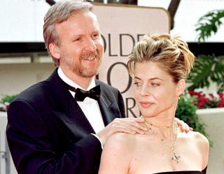 Illustration for article titled Linda Hamilton Is Still Not Very Pleased With Ex-Husband James Cameron