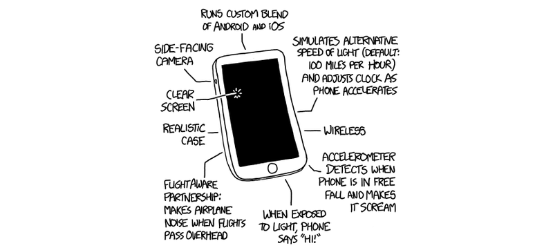 Illustration for article titled Would You Buy the XKCD Smartphone?