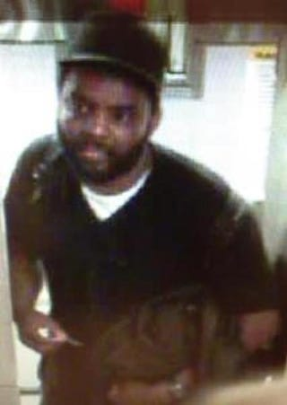 Suspect later identified as David Baril NYPD