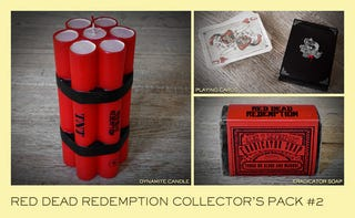 Illustration for article titled Roll Up, Get Your Replica Red Dead Dynamite And Playing Cards