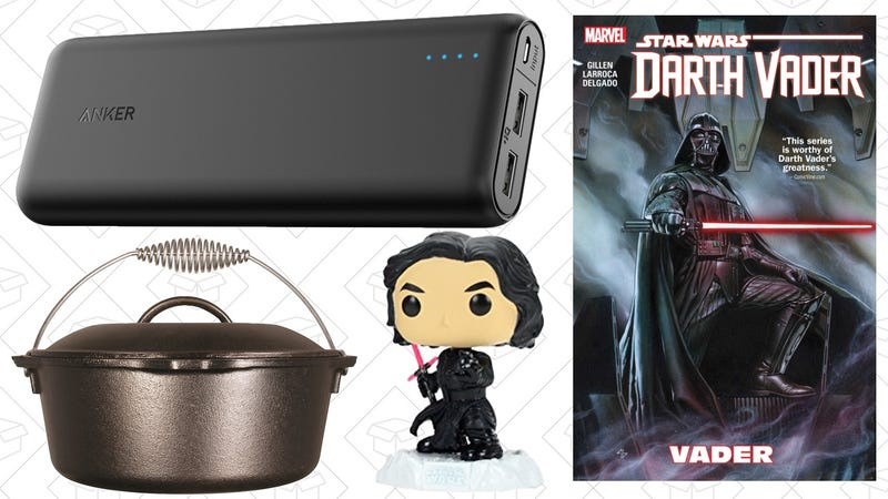 Illustration for article titled Today's Best Deals: May The Fourth Sales, Anker PowerCore, Dutch Oven, and More