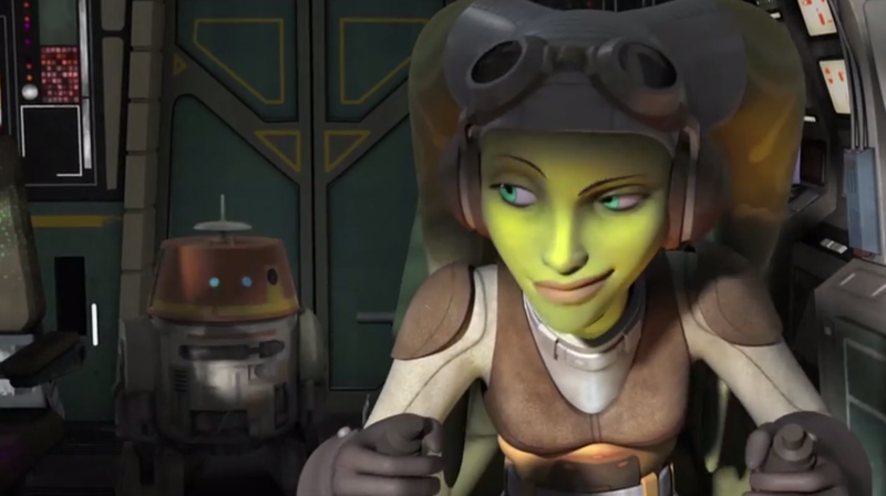 Illustration for article titled Check Out The First Clip From Star Wars: Rebels!