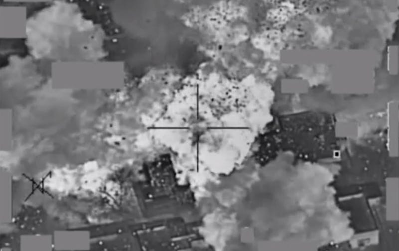 Illustration for article titled Footage Of U.S. Strike On ISIS Cash Facility Looks Like Scrooge McDuck's Vault Exploded
