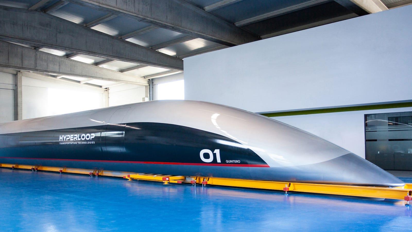 El Hyperloop de Cádiz es muy diferente al original de Elon Musk