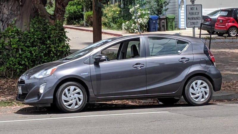 Illustration for article titled 2015 Prius C: I kind of like it.