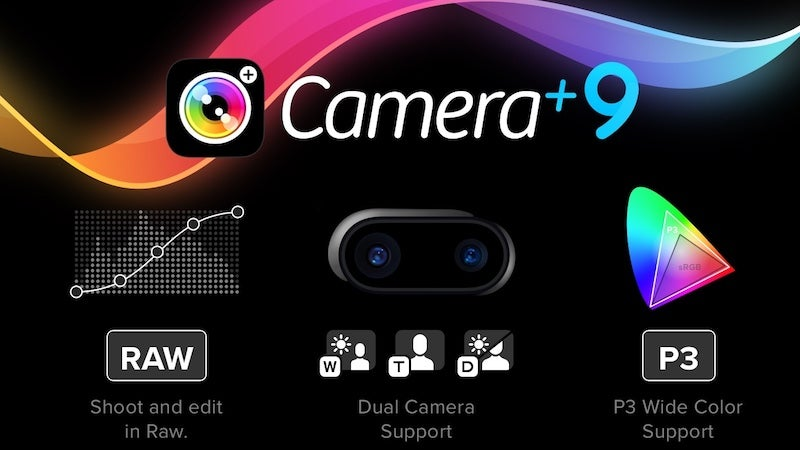 Camera+ for iPhone Adds RAW Shooting and Dual Lens Support