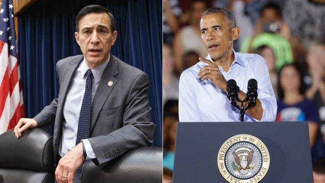 The Next Victim of Obama's Senior Spring Is Rep. Darrell Issa