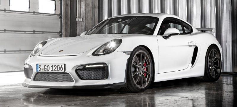 Illustration for article titled Would You Pay $165,000 For A Porsche Cayman GT4 Clubsport?