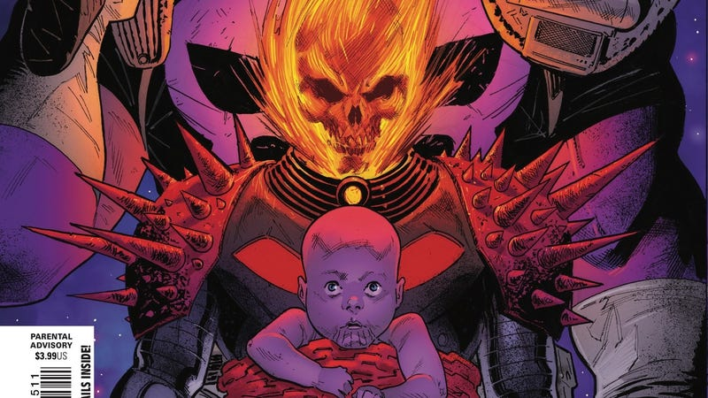 Thanos the Punisher gives Cosmic Ghost Rider a choice in