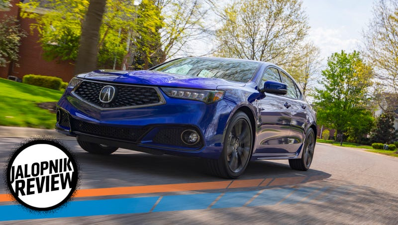 The 2018 Acura Tlx A Spec Is A Sport Sedan Without The Sport