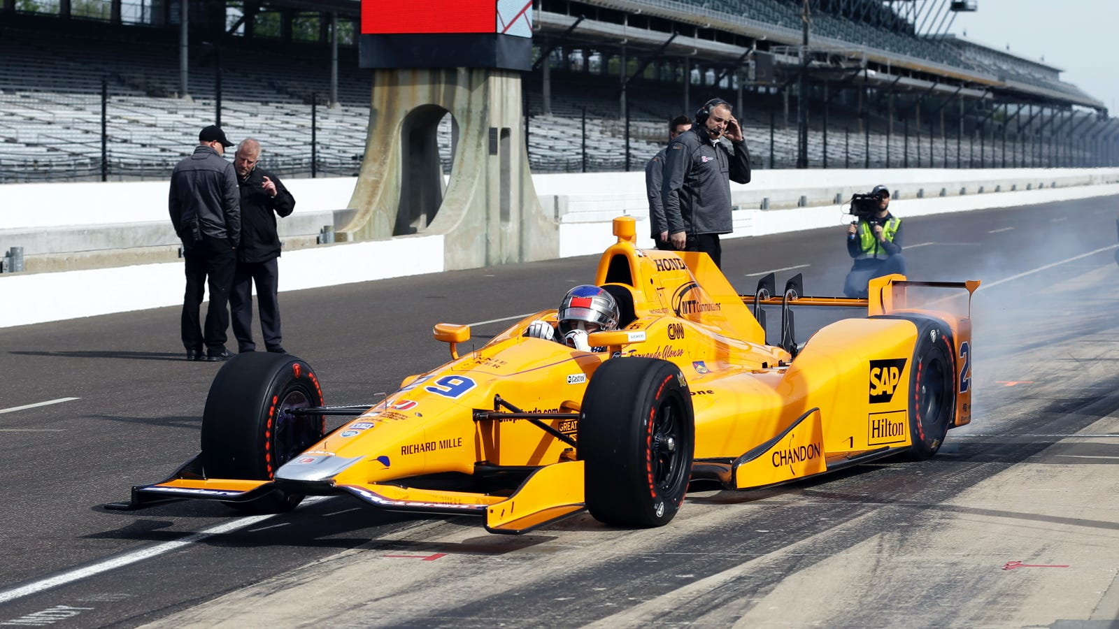 Fernando Alonso's Indianapolis 500 Practice Time Broke The ...