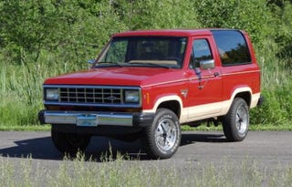 Illustration for article titled Could This Pristine 1985 Ford Bronco II Be Worth $13,700?