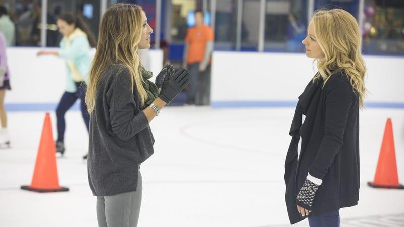 Sarah Jessica Parker, Becki Newton (Photos: Craig Blankenhorn/HBO)