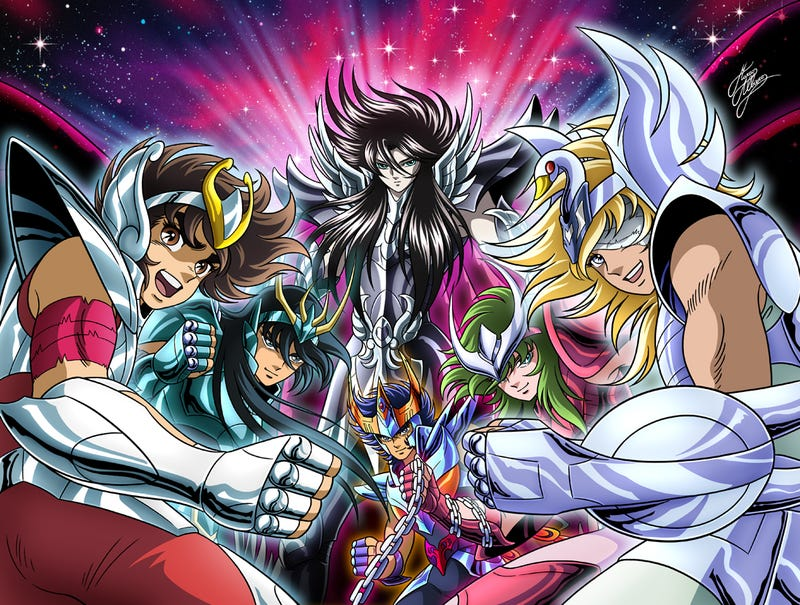 Illustration for article titled Saint Seiya The Hades Saga goes to Crunchyroll!