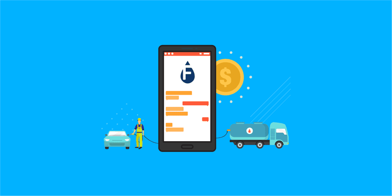 Illustration for article titled Why You Should Build an On-demand Fuel Delivery App like Filld?