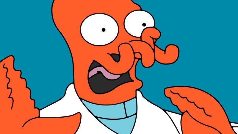 "Illustration for article titled Futurama: ""Zapp Dingbat"""