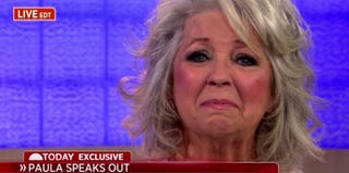 Paula Deen visits the Today Show in June 2013 (NBC)