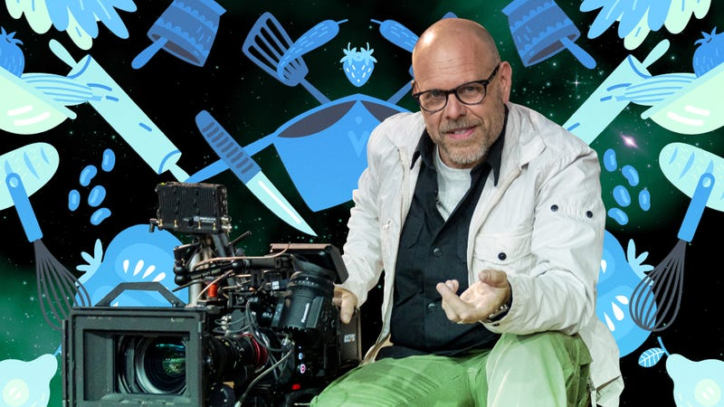 Illustration for article titled Alton Brown on the return of Good Eats, filmmaking, and embracing wankiness