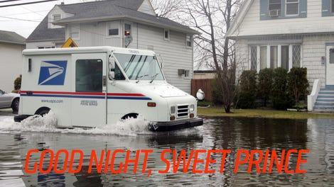 Here's The Secret New Electric U S  Postal Service Truck