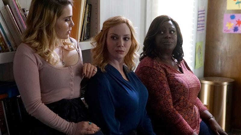 Mae Whitfield, Christina Hendricks, and Retta star in Good Girls