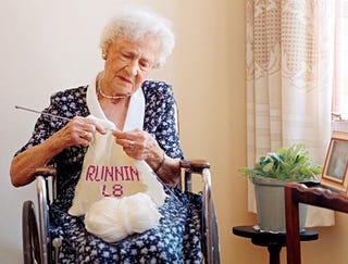 Illustration for article titled Nation's Grandmothers Swept Up In Textile-Messaging Craze