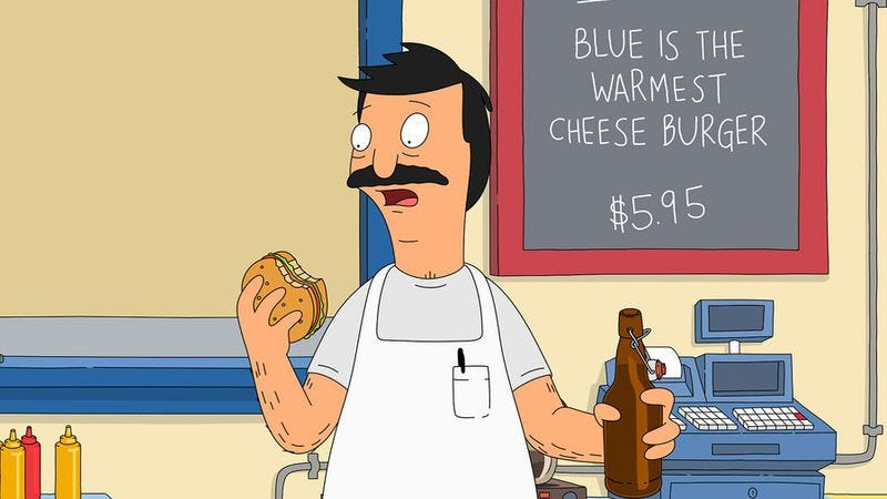 Illustration for article titled Those lovable Belchers on Bob's Burgers were originally going to be cannibals