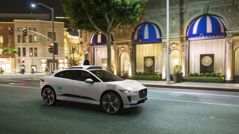 Illustration for article titled Google's Waymo Partners With Jaguar Land Rover To Build 'Up To' 20,000 Autonomous I-Paces By 2020