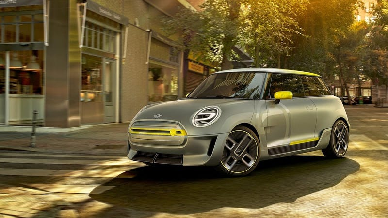 Illustration for article titled The 2017 Mini Electric Concept Is A Confusing Approach To A Promising Future