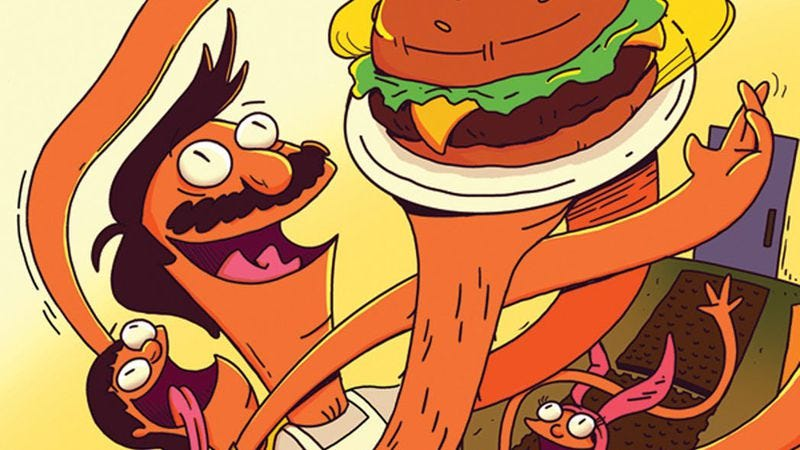 Illustration for article titled Bob's Burgers is getting a comic book