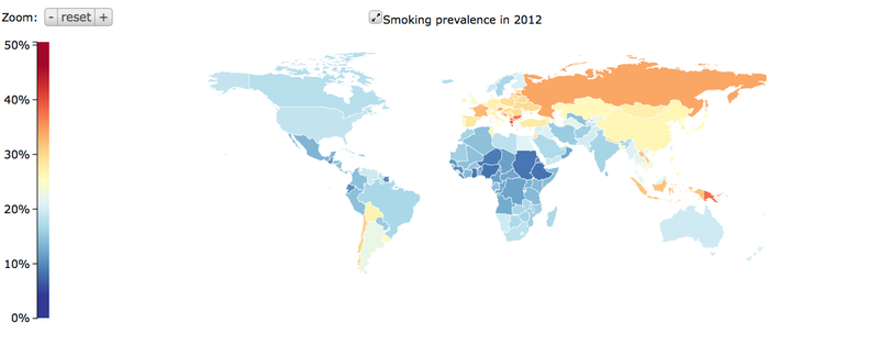 Illustration for article titled The Enemy Of Anti-Tobacco Campaigns? Population Growth