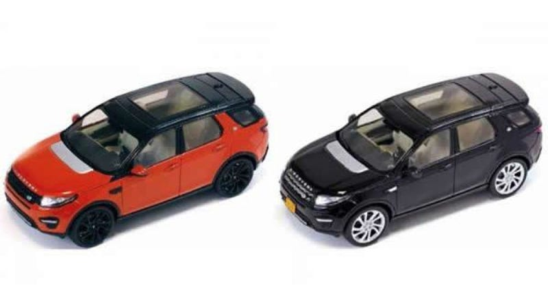 Illustration for article titled 2015 Land Rover Discovery Sport Accidentally Released As A Toy