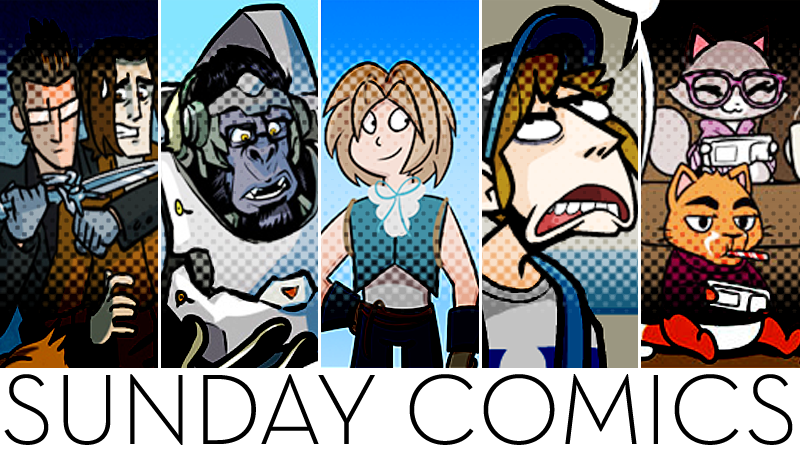 Illustration for article titled Sunday Comics: Get Good