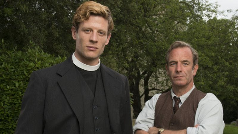 Illustration for article titled The latest British TV invasion is Grantchester, very British indeed.