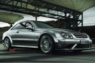 Illustration for article titled Surprise? New York Auto Show Mystery Mercedes AMG to be the CLK63 Black Series?