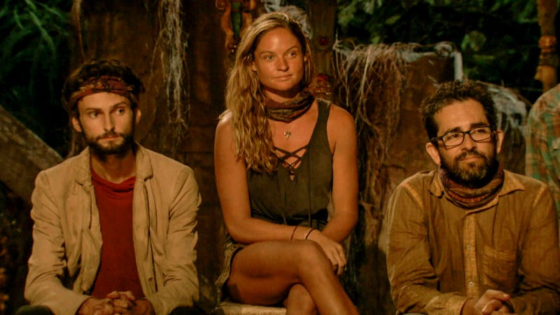 """You guys going to the Mumford And Sons show later?"" (Screenshot: Survivor)"