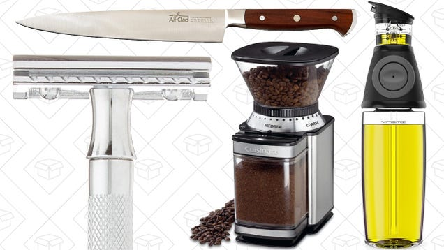 Today's Best Deals: A Smarter Olive Oil Bottle, Electric Coffee Grinder, and More