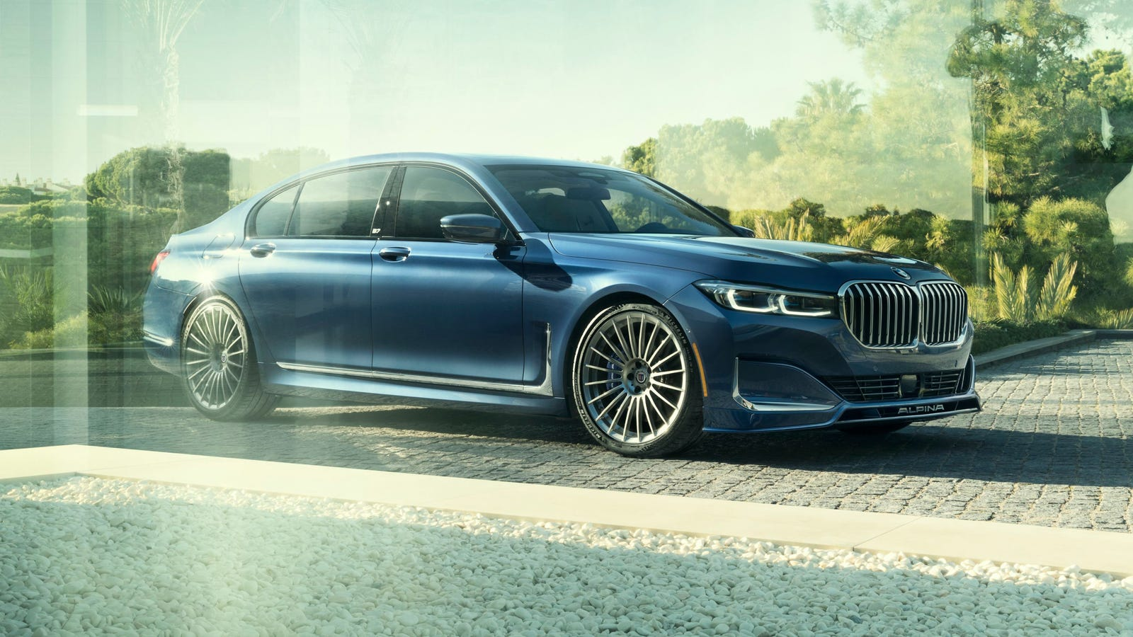 The 2020 Alpina B7 is a 4,855 Pound Luxury Sedan With BMW Claiming 205 MPH
