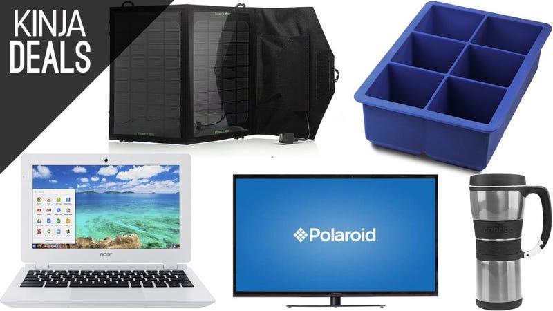 Illustration for article titled Today's Best Deals: Big Ice Cubes, $130 Laptops, 4K TVs, and More