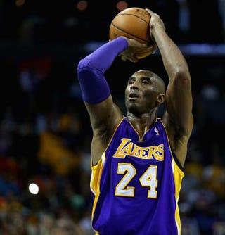 Kobe Bryant, Dec. 14, 2013, Charlotte, N.C.Streeter Lecka/Getty Images