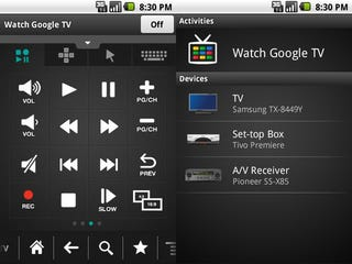 Illustration for article titled Download Logitech's Google TV Remote App For Android Now