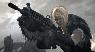 Illustration for article titled Report: Gears Of War 3 Is Like Waterworld, Minus Kevin Costner [CORRECTION]