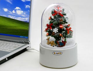 Illustration for article titled Time To Decorate The USB Christmas Tree?