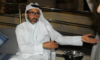 Illustration for article titled Qatar Sports Minister Says He Probably Won't Imprison Gay Soccer Fans
