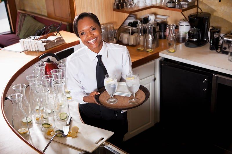 Image result for black waitress