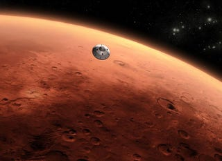 Illustration for article titled Making A Trip To Mars Cheaper & Easier: The Case For Ballistic Capture